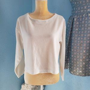 Vintage Victoria's Secret velour crop sweater C94